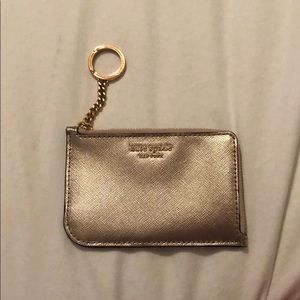 Kate Spade L zip card holder